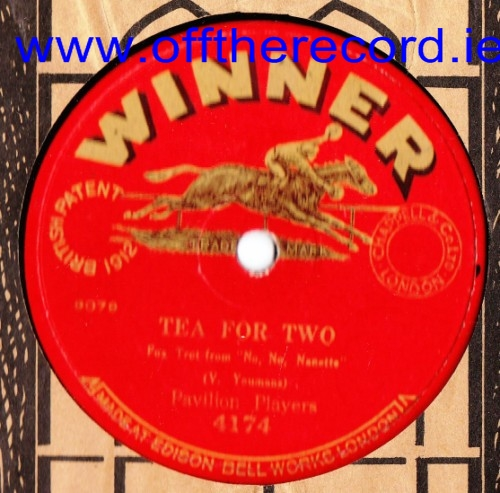 Pavilion Players - Tea For Two - The Winner 4174