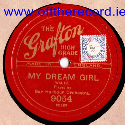 Bar Harbour Orchestra - My Dream Girl - The Grafton 9054