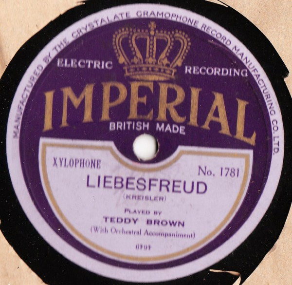 Teddy Brown Xylophone - Libesfreud - Imperial 1781