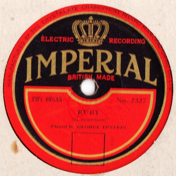 George Epstein - Ruby - Imperial 2327