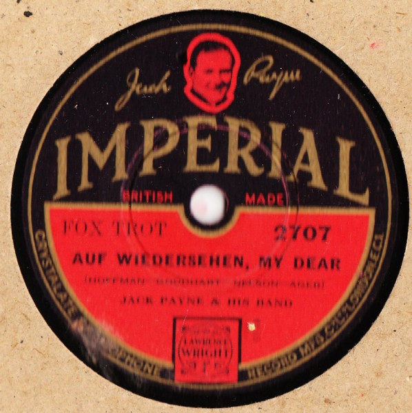 Jack Payne - Good Evening - Imperial 2707