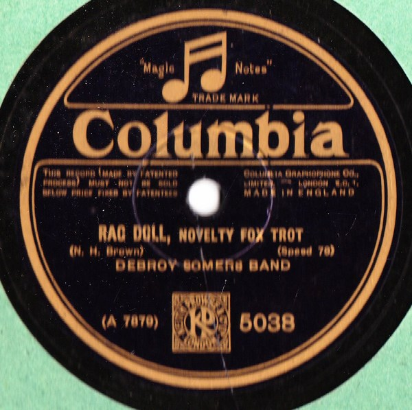Debroy Somers Band - Rag Doll - Columbia 5038