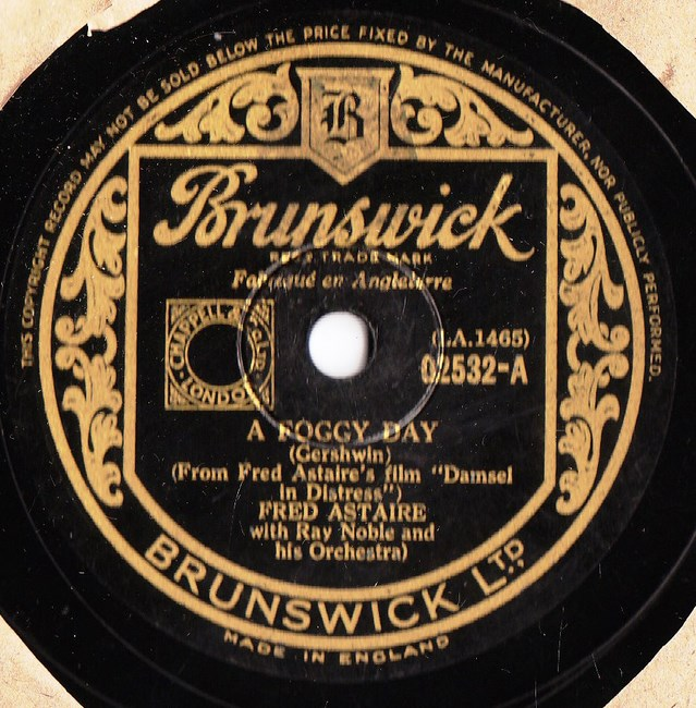 Fred Astaire - A Foggy Day - Brunswick 02532
