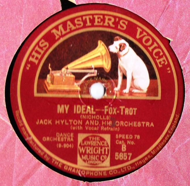 Jack Hylton - Mean to Me - HMV B.5657