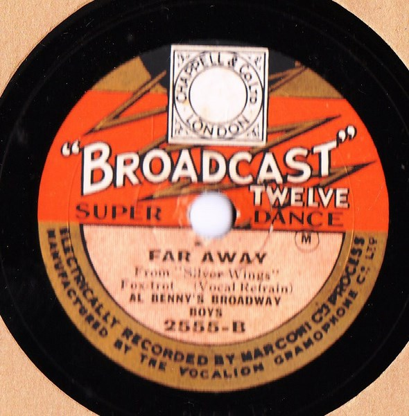 Al Benny's Broadway Boys - Nobodys using it Now - Broadcast 2555