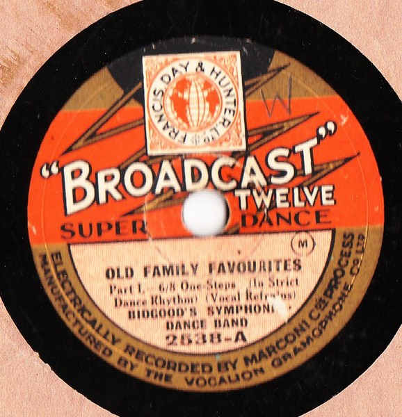 Bidgood's Dance Band - Old Family Favourites - Broadcast 2538