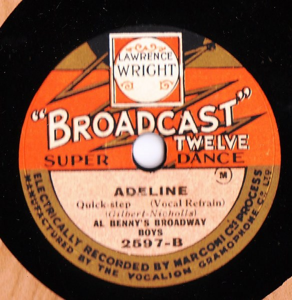 Al Benny's Broadway Boys - Little White Lies - Broadcast 2597