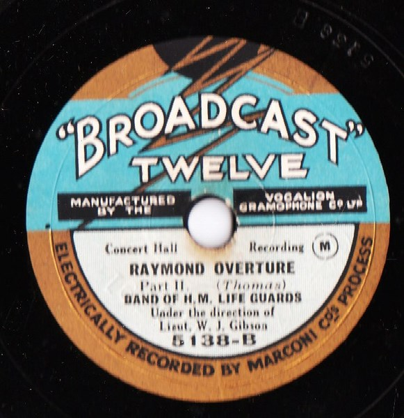 Band of H.M. Life Guards - Raymond Overture - Broadcast 5138