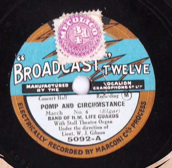 Band of H.M. Life Guards - Pomp & Circumstances - Broadcast 5092