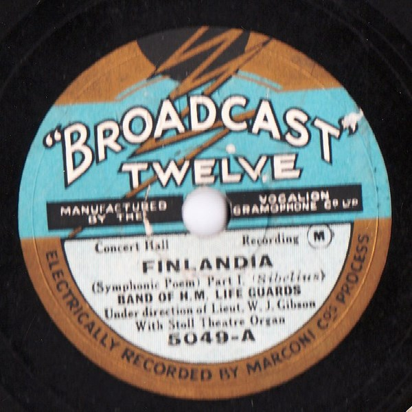 Band of H.M. Life Guards - Sibelius Finlandia - Broadcast 5049