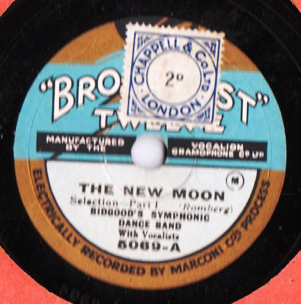 Bidgood's Dance Band - The New Moon - Broadcast 5069