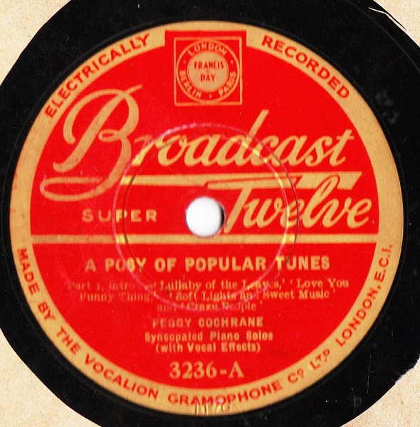 Peggy Cochrane Solo Violin - Posy of Popular - Broadcast 3236
