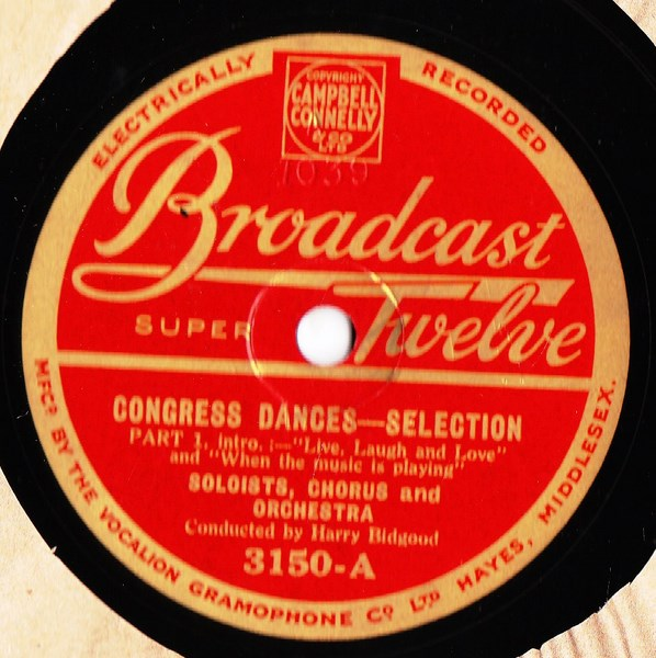 Congress Dances - Soloists & Chorus - Broadcast 3150