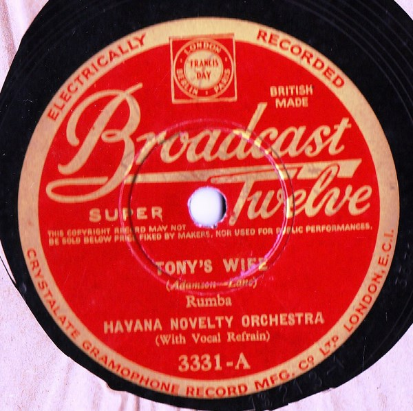 Havana Novelty Orch / Seville Rumba Band - Broadcast 3331