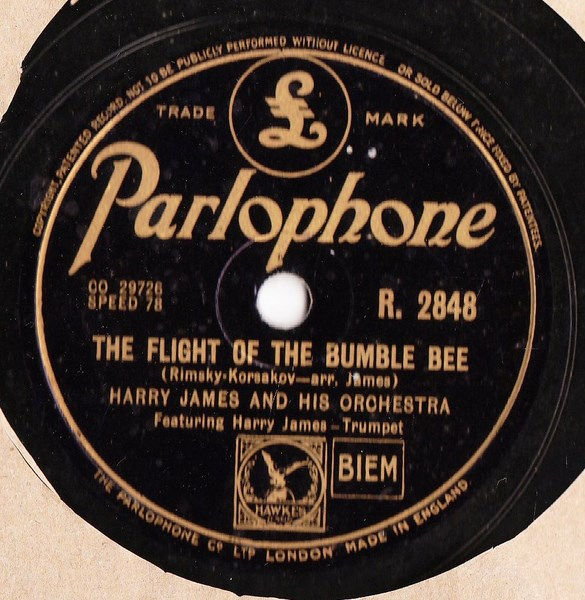 Harry James - The Carnival of Venice - Parlophone R.2848