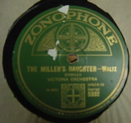 Victoria Orchestra - The Miller's Daughter - Zonophone 5332