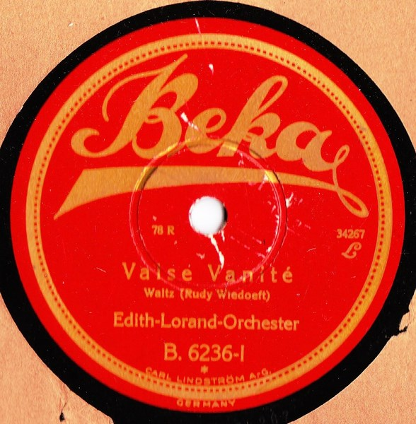 Edith Lorand - Valse Vanite - Beka B.6236