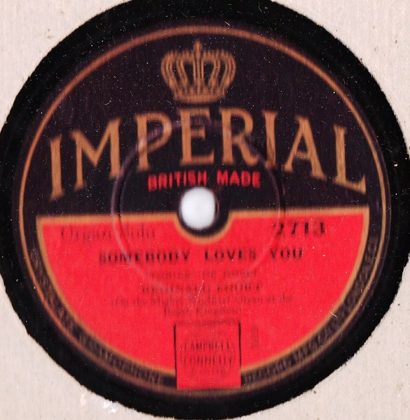 Reginald Foort - Dream Sweetheart - Imperial 2713