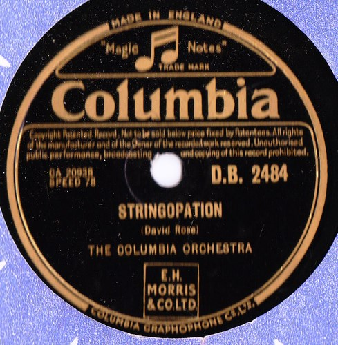 The Columbia Orchestra - Stringopation - Columbia DB.2484
