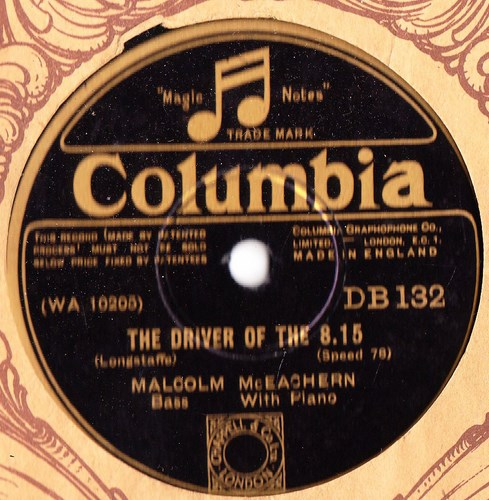 Malcolm McEachern - The Driver of The 8.15 - Columbia DB.132