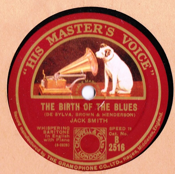 Jack Smith - Birth of the Blues / Possibly - HMV B.2516