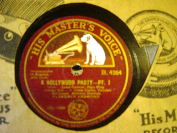 Florence Desmond - A Hollywood Party - HMV B.4264 India