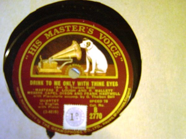 Master E. Lough & R. Mallett - Nursery Rhymes - HMV B.2770