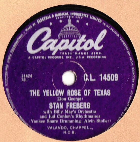Stan Freberg - Rock around Stephen Foster - Capitol CL.14509