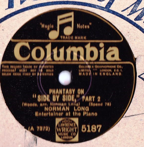 Norman Long Piano - Side by Side - Columbia 5187
