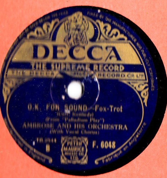 Ambrose & Orchestra - There's a new world - Decca F.6048