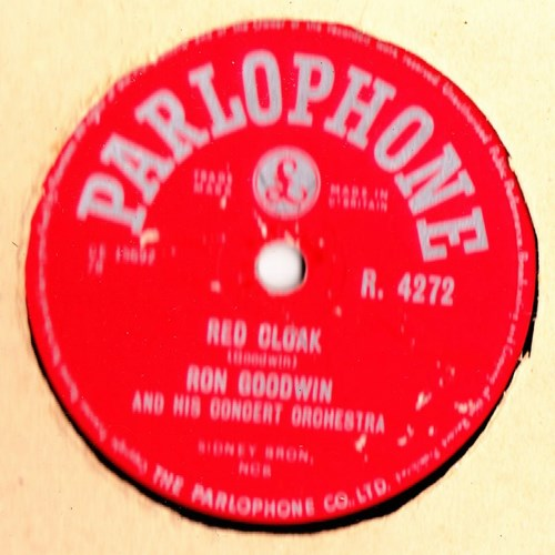 Ron Goodwin - Red Cloak - Parlophone R.4272 UK
