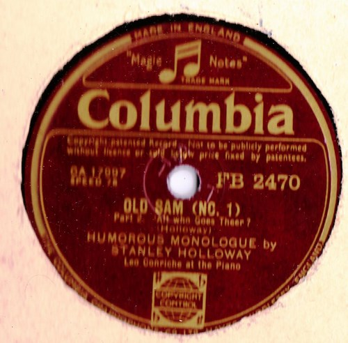 Stanley Holloway - Old Sam - Columbia FB.2470