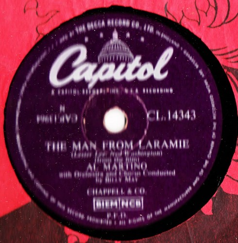 Al Martino - The Man from Laramine - Capitol CL.14343