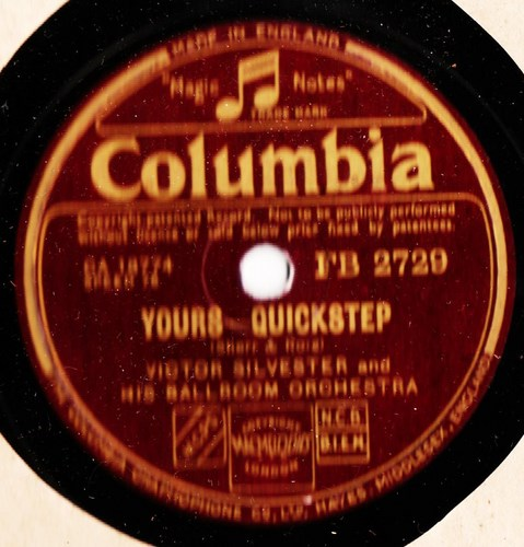 Victor Silvester - Yours - Columbia FB.2729