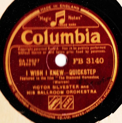 Victor Silvester - I wish I knew - Columbia FB.3140