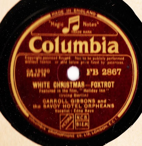 Carroll Gibbons - White Christmast - Columbia FB.2867