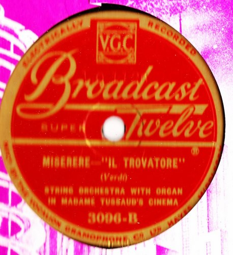 String Orchestra with Organ - Barcarolle - Broadcast Twelve 3096