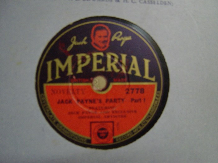 Jack Payne - Jack Payne's Party - Imperial 2778