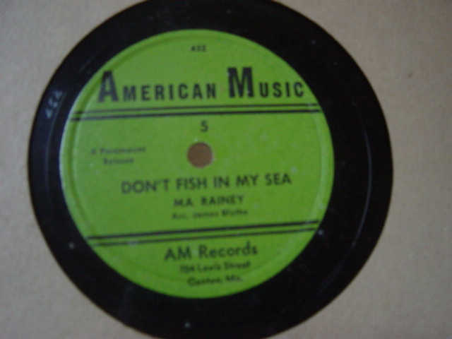 Ma Rainey - Don't fish in my Sea - American Music 5
