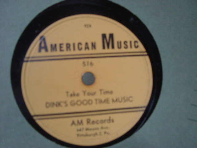 Dink's Good Time Music - Take your time - American Music 516