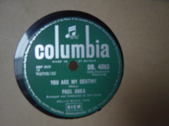 Paul Anka - When I stop loving you - Columbia DB.4063