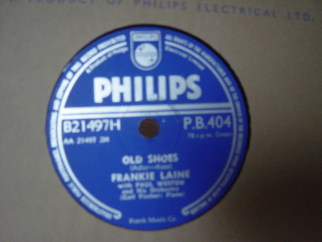 Frankie Laine - In the beginning - Philips P.B.404