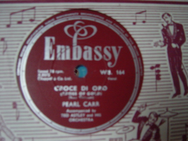 Pearl Carr - Young and Foolish - Embassy WB.164