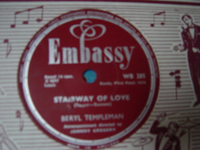 Beryl Templeman - Who's sorry now - Embassy WB.285