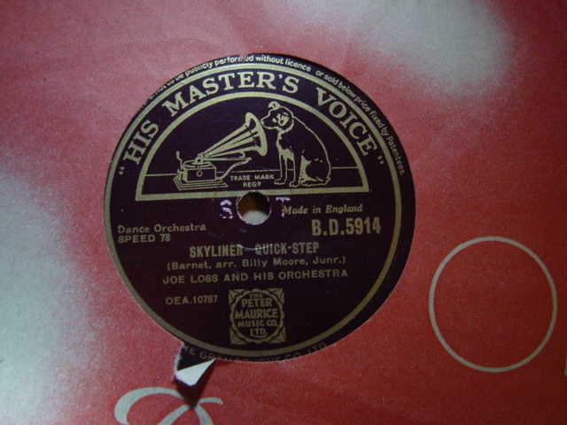 Joe Loss - Skyliner / Gotta be this or that - HMV B.D.5914