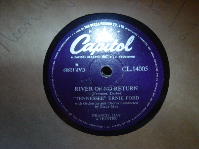 Tennessee Ernie Ford - River of no return - Capitol CL.14005