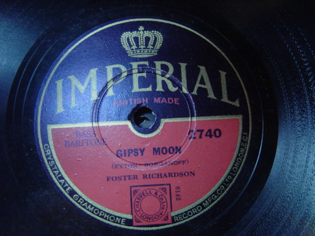 Foster Fichardson - Gypsy Moon / Roses at Dawnin - Imperial 2740