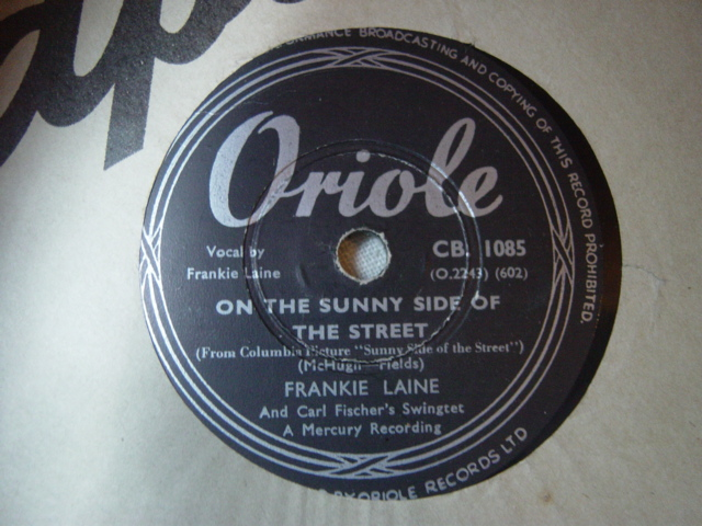 Frankie Laine - I may be wrong - Oriole CB.1085