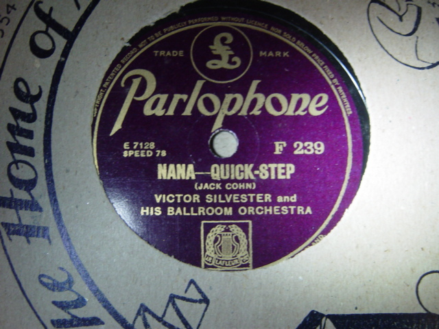 Victor Silvester - Life begins with love - Parlophone F.239