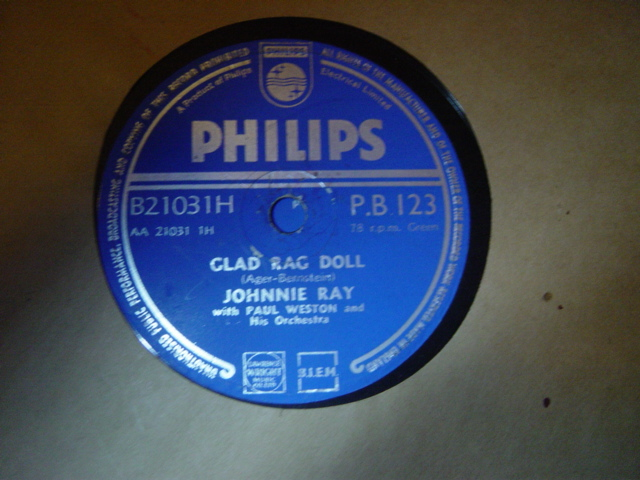 Johnnie Ray - Somebody stole my Gal - Philips PB.123